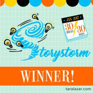 2017 Storystorm Winner